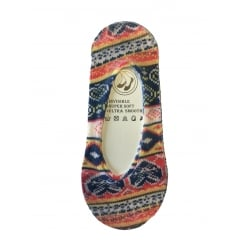 1 Pack Aztec Patterned Footlets