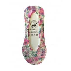 1 Pack Floral Netted Patterned Footlets