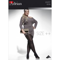 AMY 60 Denier Microfibre Tights + Size Collection