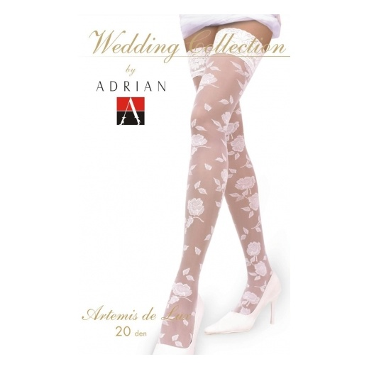 Adrian ARTEMIS DE LUX Patterned Wedding Hold-ups