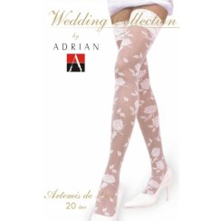 ARTEMIS DE LUX Patterned Wedding Hold-ups