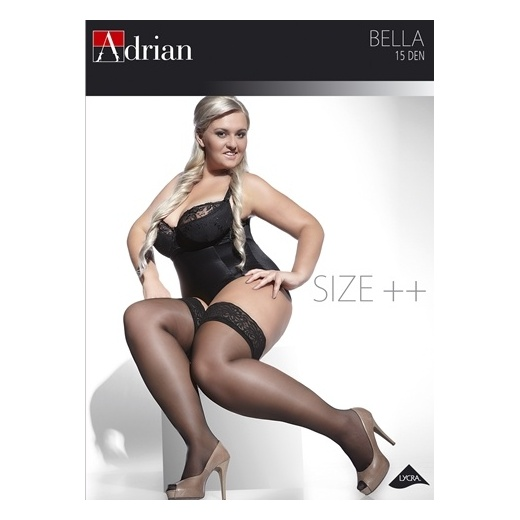 Adrian BELLA +SIZE 15 Denier Hold Ups