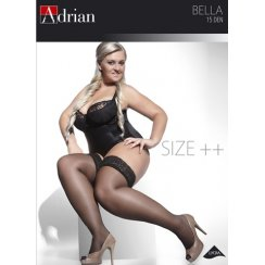 BELLA +SIZE 15 Denier Hold Ups