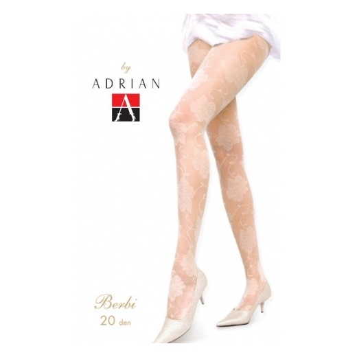Adrian BERBI 20 Denier Patterned Wedding Tights