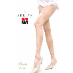 BERBI 20 Denier Patterned Wedding Tights