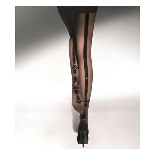 Adrian FLAVIE & STONES 20 Denier Patterned Tights