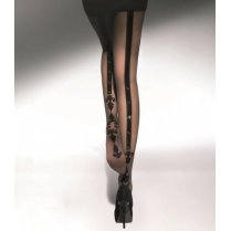 FLAVIE & STONES 20 Denier Patterned Tights