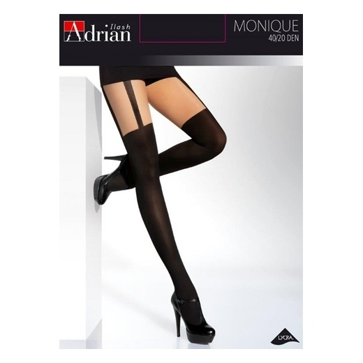 Adrian MONIQUE Hold-Up Style Patterned Tights