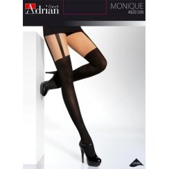 MONIQUE Hold-Up Style Patterned Tights