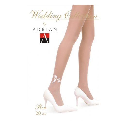 Adrian REA 20 Denier Patterned Wedding Tights