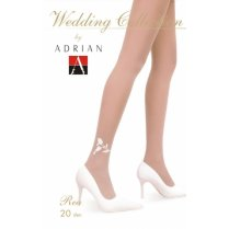 REA 20 Denier Patterned Wedding Tights