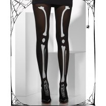 Black & White Skeleton Tights
