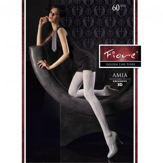 Fiore AMIA 60 Denier Patterned Tights