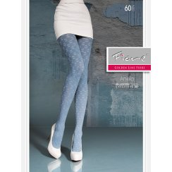 ANELA 60 Denier Patterned Tights