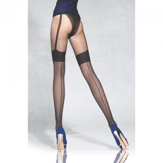 Fiore BEVERLY 20 Denier Tights With a Stocking Imitation