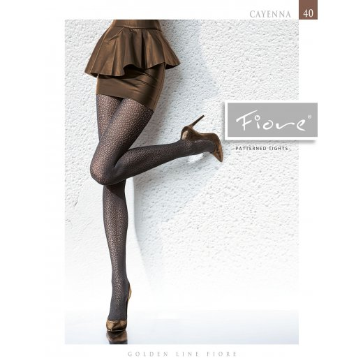 Fiore CAYENNA 40 Denier Patterned Tights