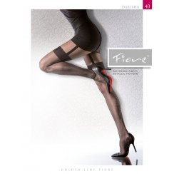 DARISHA 40 Denier Tights With Hold Up Pattern