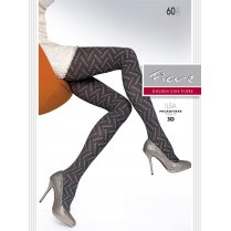 ILSA 60 Denier Patterned Tights