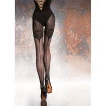 JOLENA 40 Denier Patterned Tights