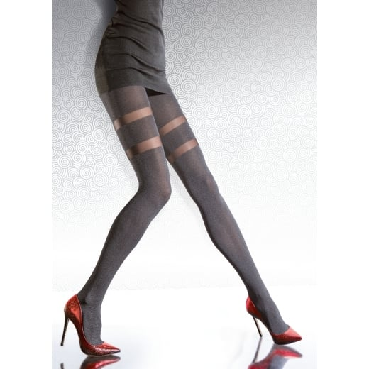 Fiore JUNEA 40 Denier Opaque Patterned Tights