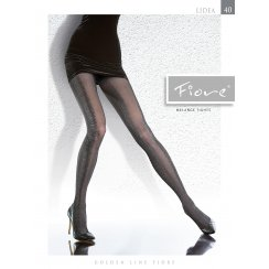 LIDEA 40 Denier Microfibre Patterned Tights