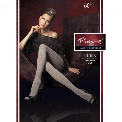 Fiore NUBIA 60 Denier Triangle Patterned Tights