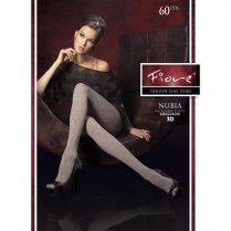 NUBIA 60 Denier Triangle Patterned Tights