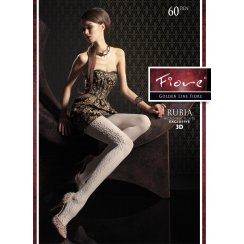 RUBIA 60 Denier Microfibre 3D Tights