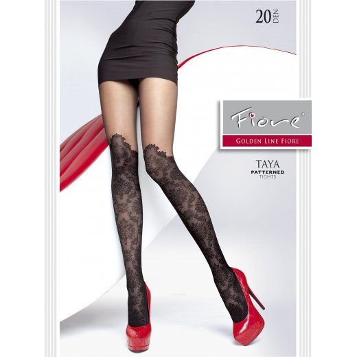 Fiore TAYA 20 Denier Patterned Tights