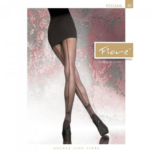 Fiore VELLANA 40 Denier Patterned Tights