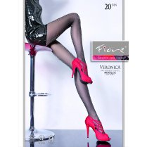VERONICA 20 Denier Glitter Patterned Tights