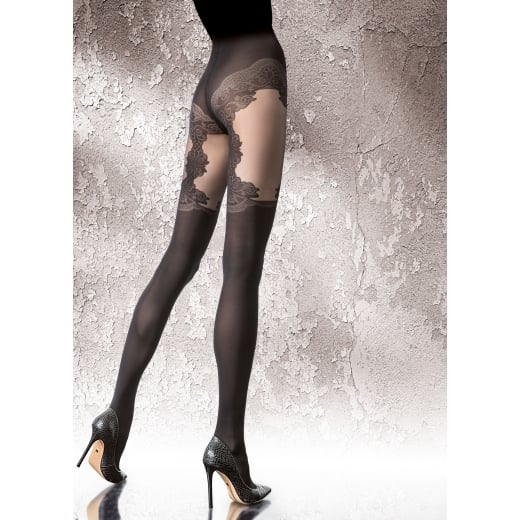 Fiore VITESSA 40 Denier Patterned Microfibre Tights