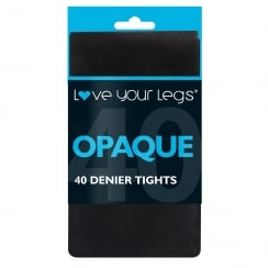 1 Pack 40 Denier Opaque Tights