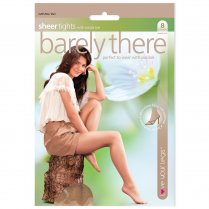 1 Pack Barely There Tights