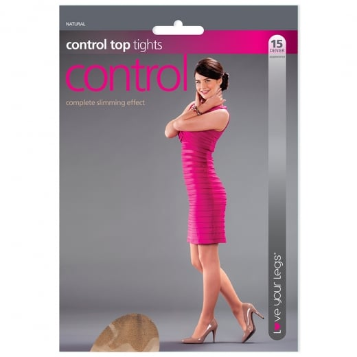 Love Your Legs 1 Pack Control Top Tights