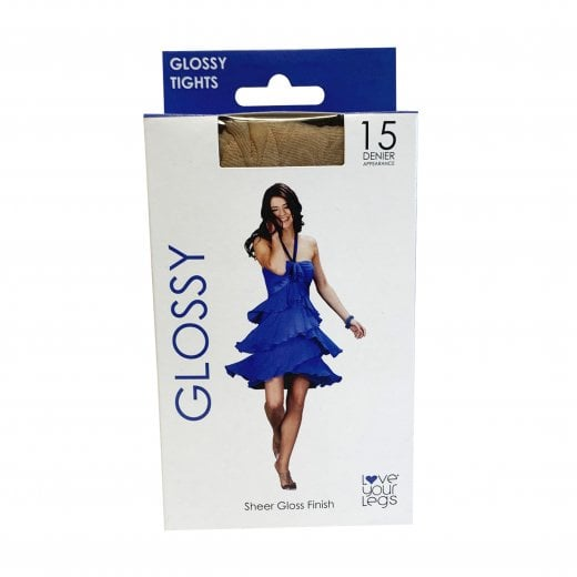 Love Your Legs 1 Pack Glossy Tights
