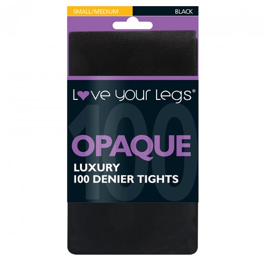 Love Your Legs 100 Denier Opaque Tights