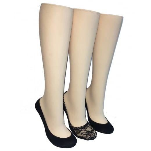 Love Your Legs 3 Pack Fashion Footlets