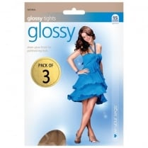 3 Pack Glossy Tights