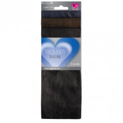 3 Pack Trouser Socks