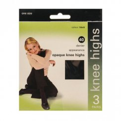 40 Denier Opaque Knee Highs