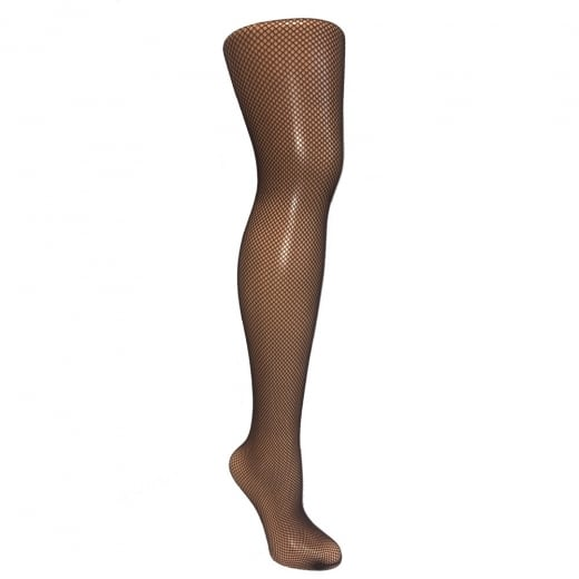 Love Your Legs Brown Fine Fishnet Tights