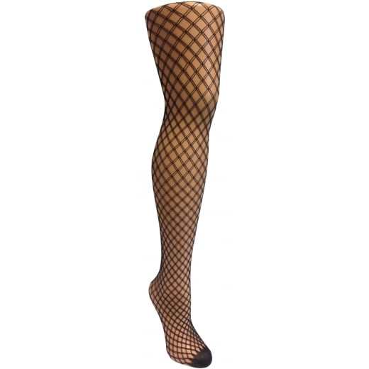 Love Your Legs Double Drawn Fishnet Tights