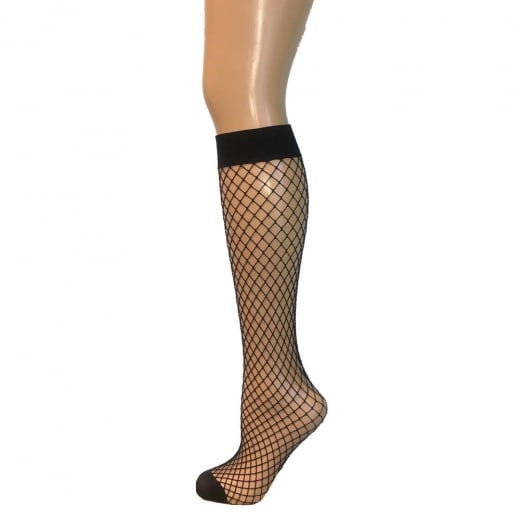 Love Your Legs Fishnet Knee High Socks