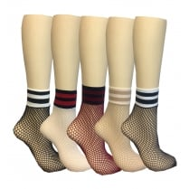 Fishnet Sports Top Socks
