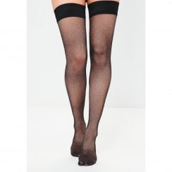 Glitter Fishnet Hold-Ups