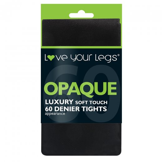 Love Your Legs Luxury 60 Denier Opaque Tights