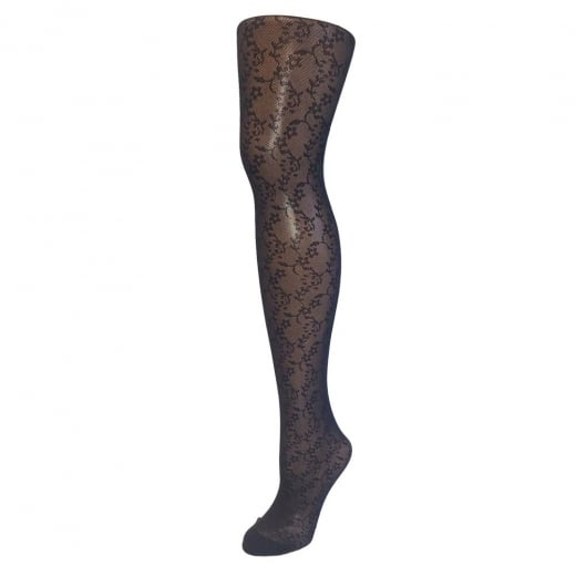 Love Your Legs On Trend Fashion Lace Flower Tights