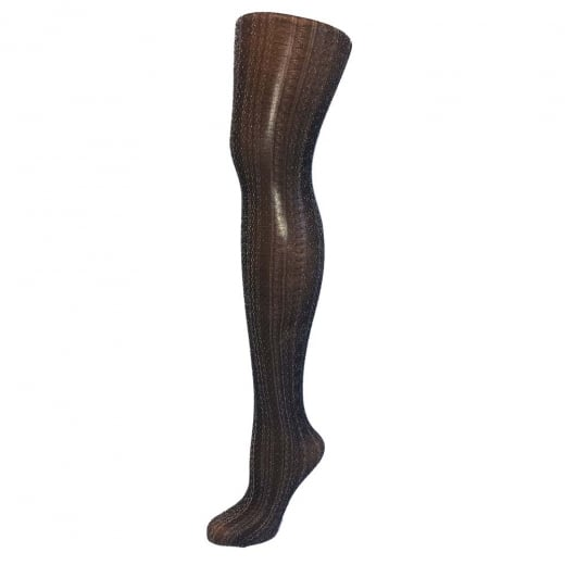 Love Your Legs On Trend Fashion Silver Sparkle Tights
