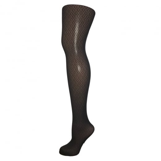 Love Your Legs Repeat Diamond Pattern Tights